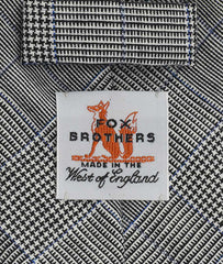 Fox Prince of Wales tie label