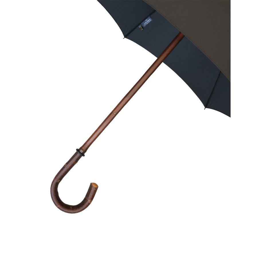 Amidé Hadelin | Cherry wood gents umbrella, black