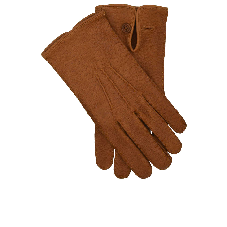 Amidé Hadelin | Peccary gloves, Cork