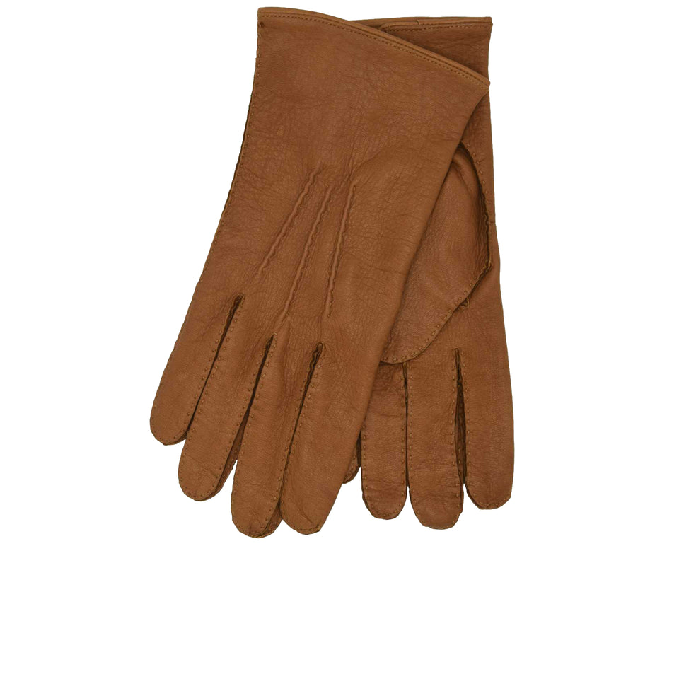 Amidé Hadelin | Deerskin gloves, Tan