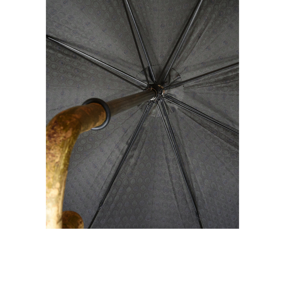 Ash solid stick umbrella - olive