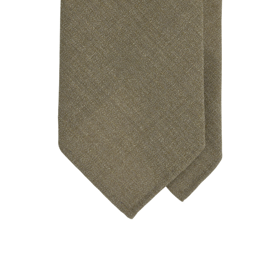 Amidé Hadelin | Smith Woollens fresco tie - brown