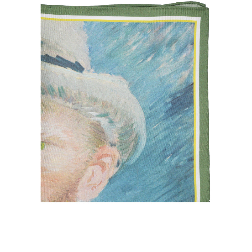 Amidé Hadelin | Vincent van Gogh pocket square 'Self-portrait'