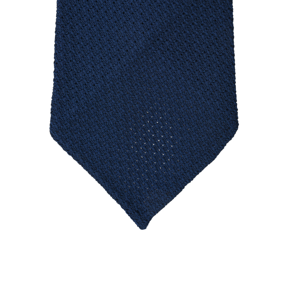 Orange Label | 'garza grossa' tie, French navy_tip