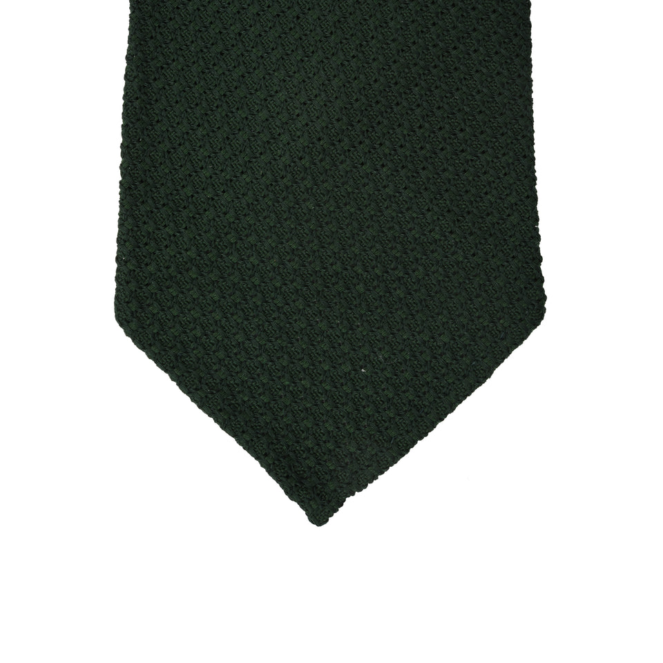 Orange Label | 'garza grossa' tie, dark green_tip