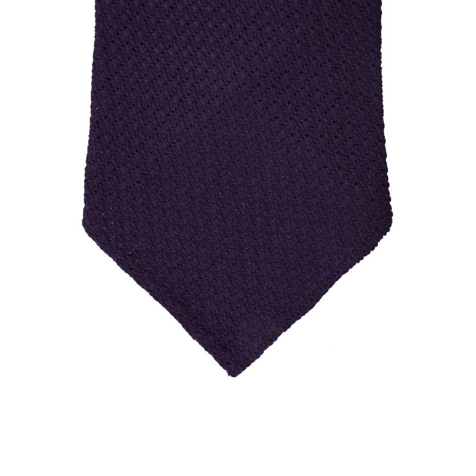 Orange Label | 'garza grossa' tie, purple_tip