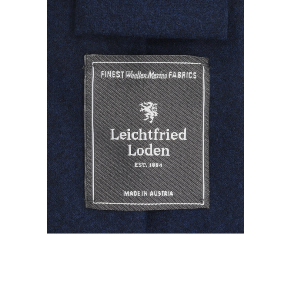 Amidé Hadelin | Loden tie, dark blue_label
