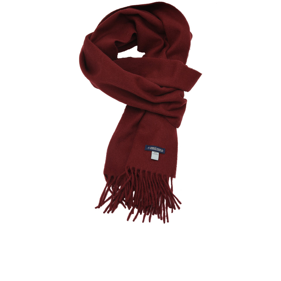 Amidé Hadelin | Cashmere scarf, wine_full