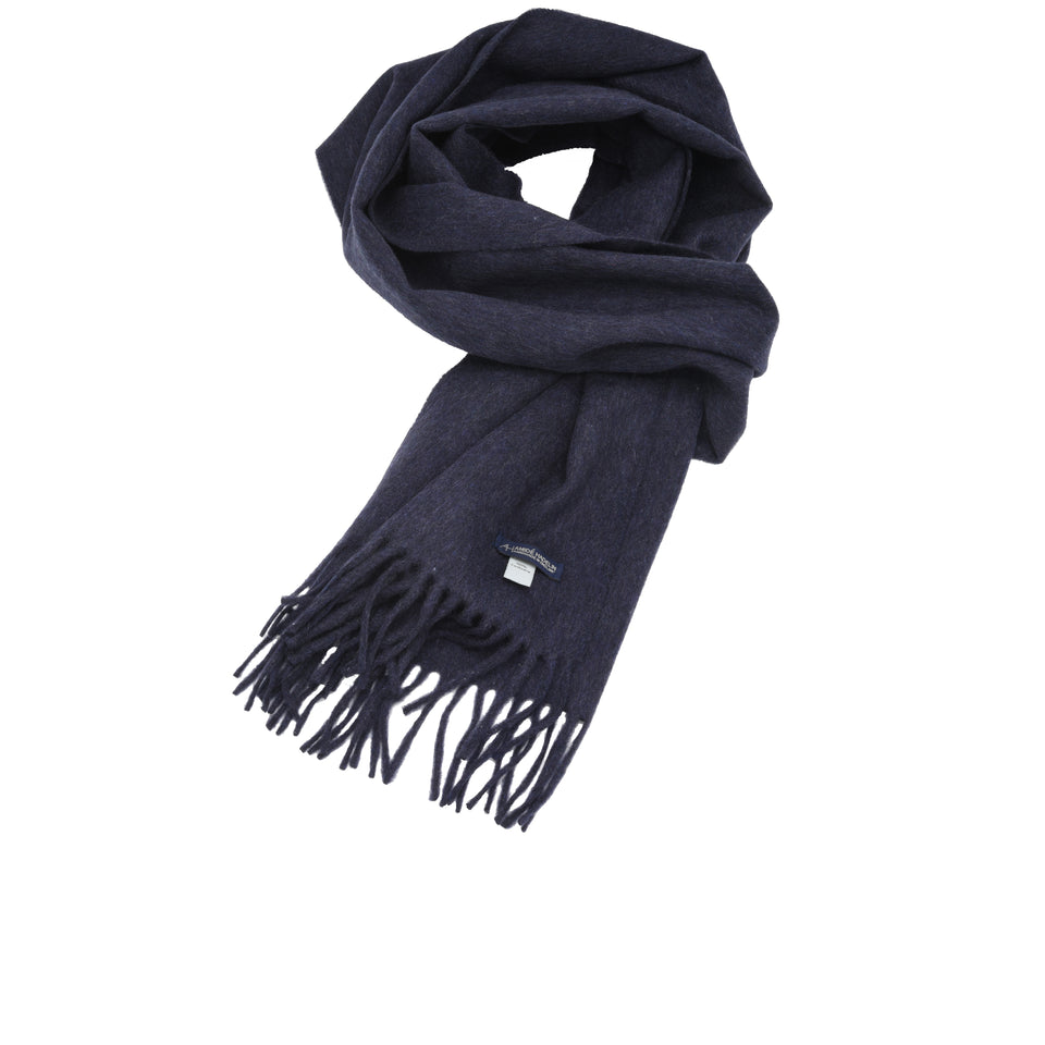 Amidé Hadelin | Cashmere scarf, denim_full