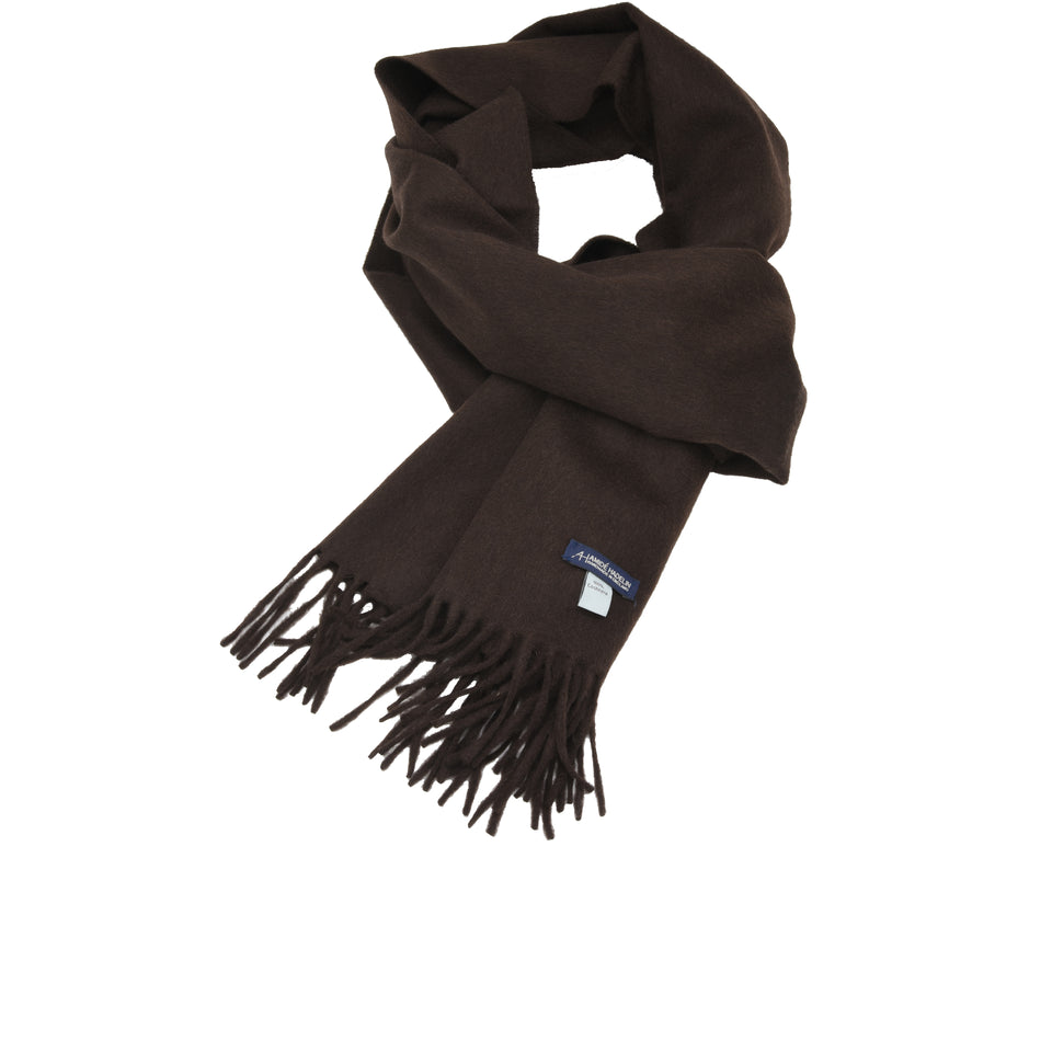 Amidé Hadelin | Cashmere scarf, chocolate_full