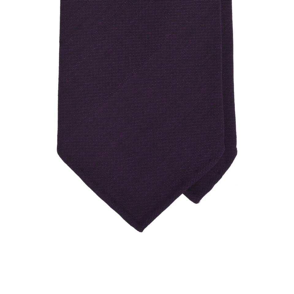 Amidé Hadelin | Fresco tie, purple_tip