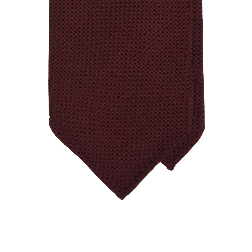 Amidé Hadelin | Fresco tie, dark red_tip