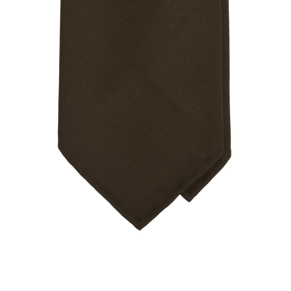Amidé Hadelin | Fresco tie, brown_tip