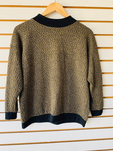 Sale Vintage sweater fits med