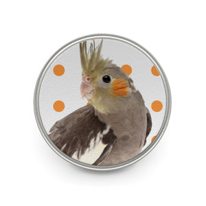 Cockatiel Metal Pin