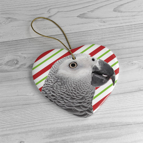 African Grey Ornaments