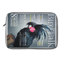 Load image into Gallery viewer, Bird Talk is Back! Laptop Sleeve