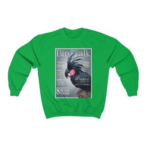 Bird Talk is Back! Unisex Heavy Blend™ Crewneck Sweatshirt