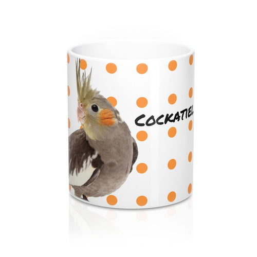 Cockatiel Dots 11oz Mug