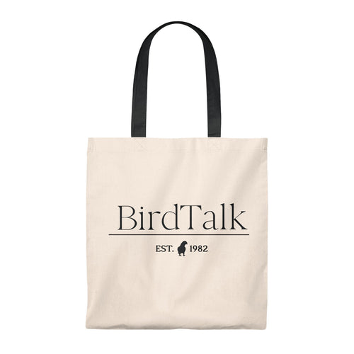 Bird Talk Est. 1982 Vintage Tote Bag