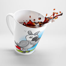 "Load image into Gallery viewer, ""Beaks Up!"" Memo to Parker and Pepper 12 Ounce Latte Mug"