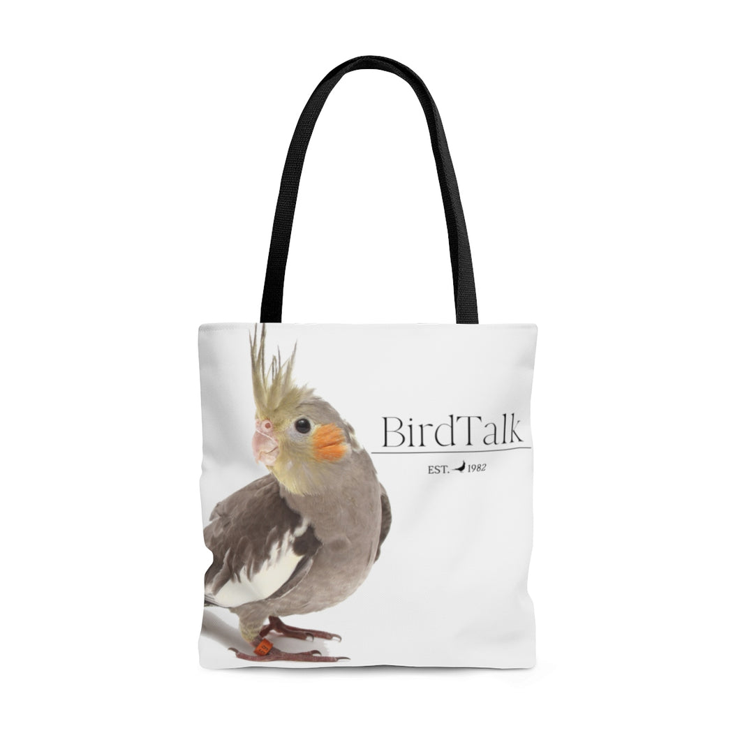 Cockatiel AOP Tote Bag