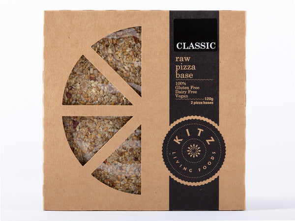 Classic Raw Pizza Base-2 per 120g pack