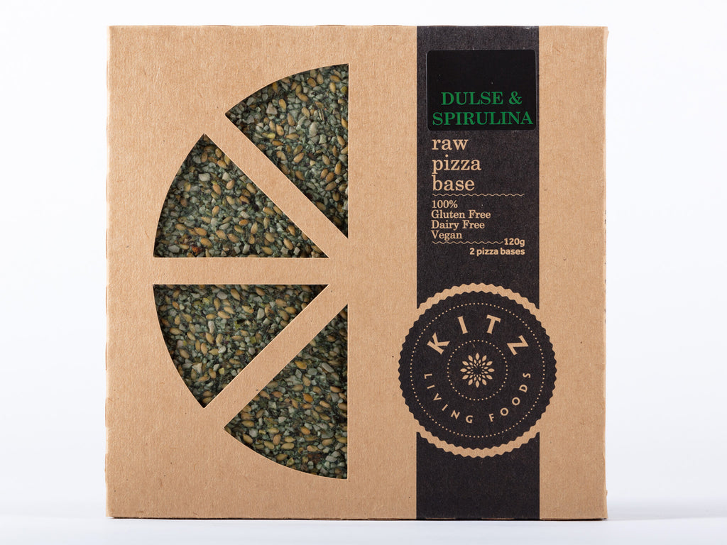 Dulse & Spirulina Raw Pizza Base