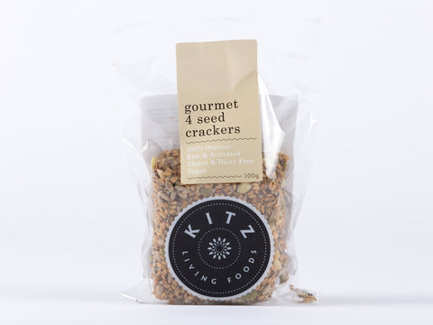 Gourmet 4 Seed Crackers