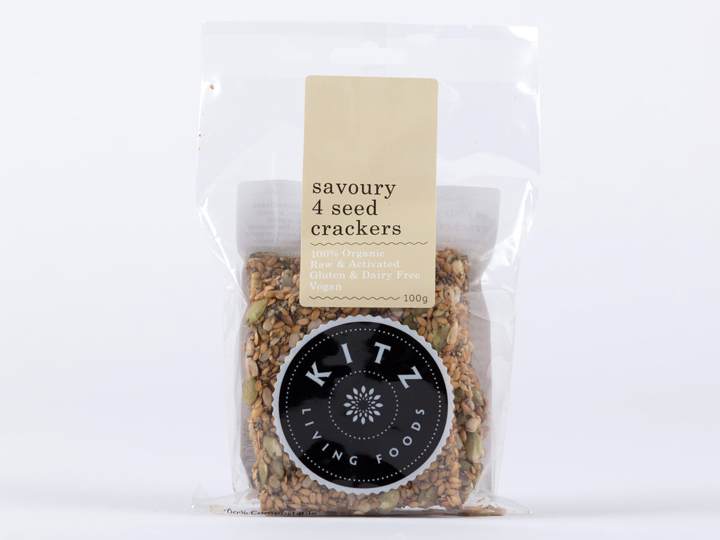 Savoury 4 Seed Crackers