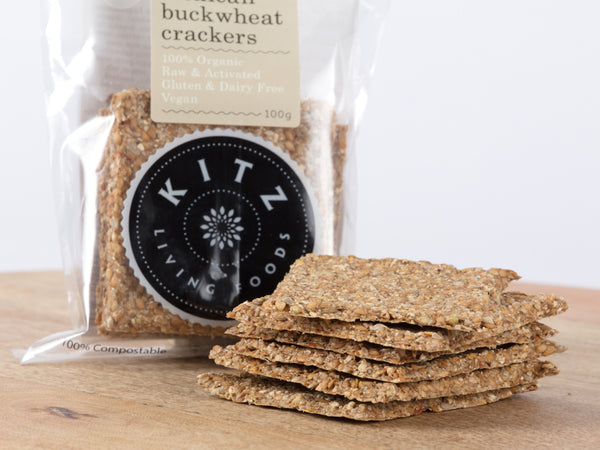 Mexican Buckwheat Crackers