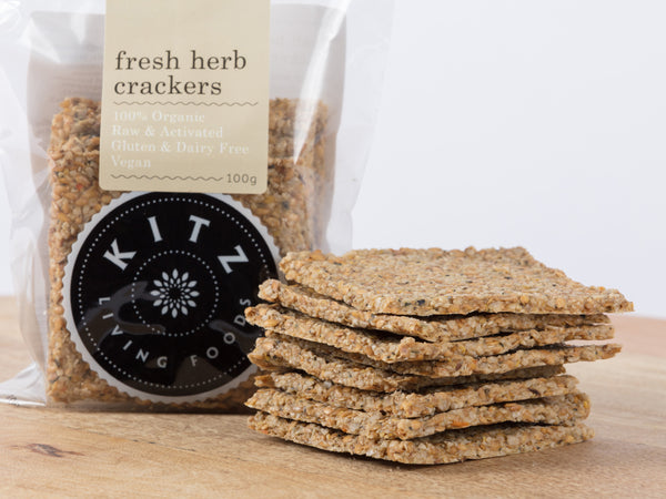 Fresh Herb Crackers