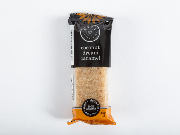 Coconut Dream Caramel Bar (single bar or 10 x 45g bar box)