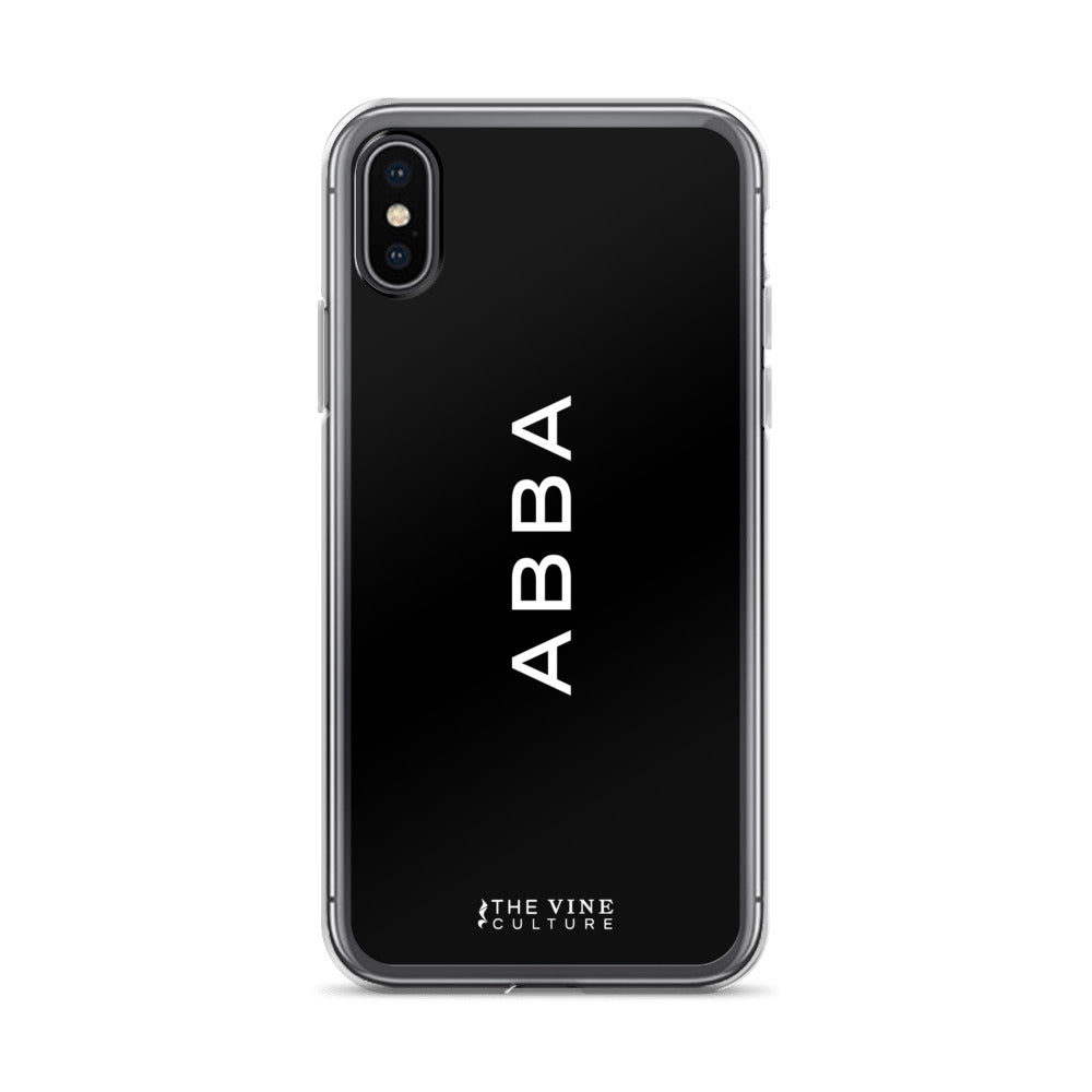 Abba (White) iPhone Case