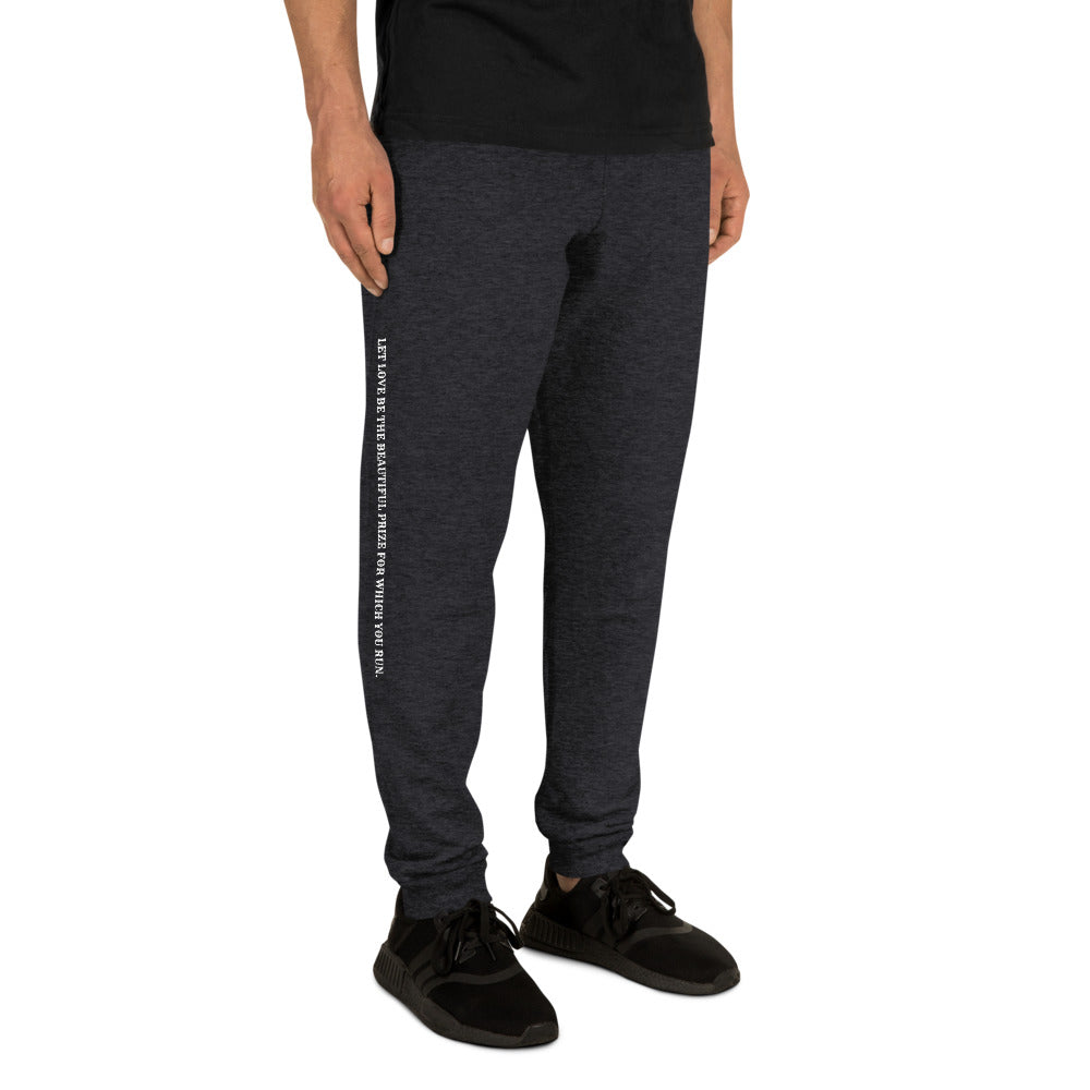Love The Beautiful Prize Unisex Joggers