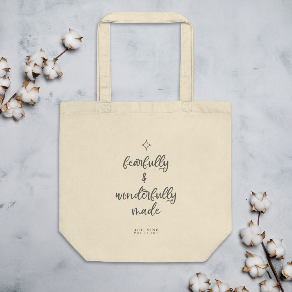 Fearfully & Wonderfully Made Eco Tote Bag