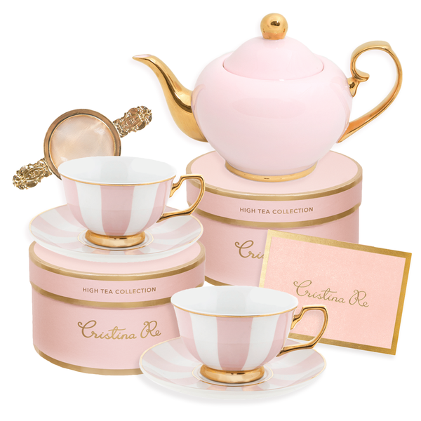 Blush Tea for 2 Gift Set