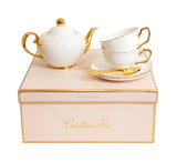 Tea Set For Two - Ivory