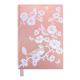 A5 Hard Cover Chinoiserie Birds