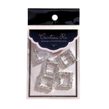 Diamante Buckles Square