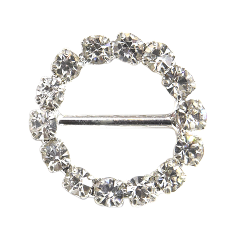 Diamante Buckles Round