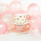 Teacup Polka D'Or Blush