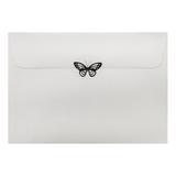 Metallic Butterfly Silver (50 Qty)