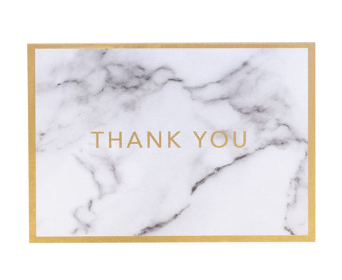 Marble Thank You Card (10 pack)