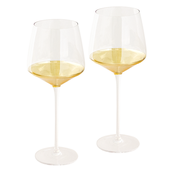 Wine Glass Estelle Gold Set of 2