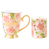 Butterfly Roses Mum Mug & Candle Set