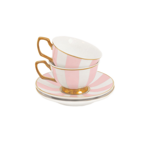 Teacup Petite Stripes Blush
