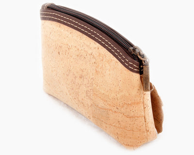 vegan leather change purse