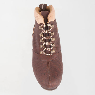 Men's Brown/Natural Cork Boot-Leather Interior