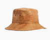 waterproof bucket hat, vegan leather hat